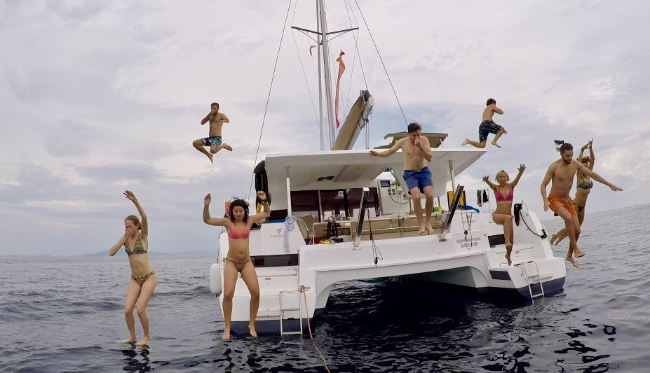 catamaran fun